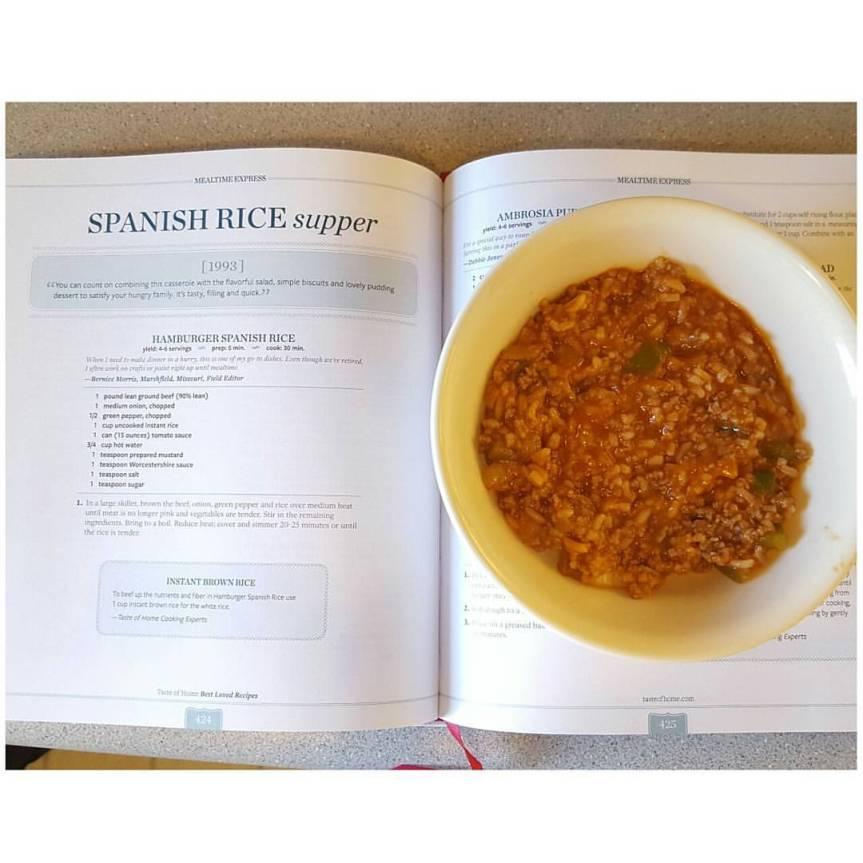 """Recipe Review: """"Hamburger SpanishRice"""""""