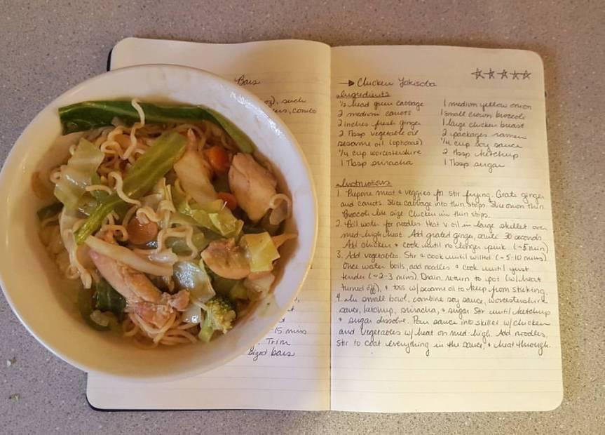 Recipe Review: ChickenYakisoba