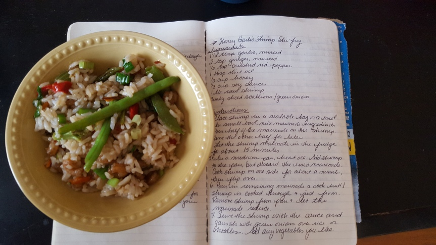 Recipe Review: Honey Garlic Shrimp Stir-Fry