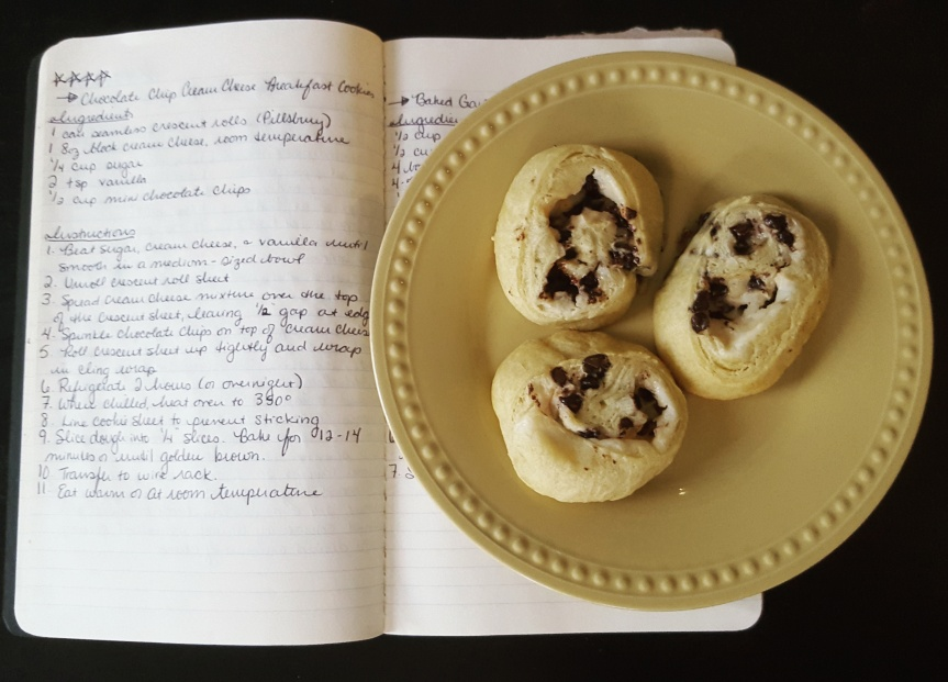 Recipe Review: Chocolate Chip Cream Cheese BreakfastCookies