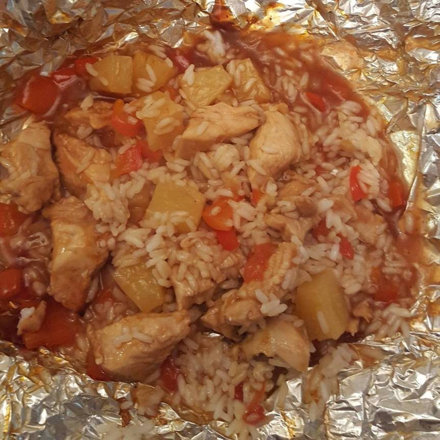 Recipe Review: BBQ Chicken Foil Packs