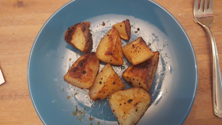 Recipe Review: Garlic RoastedPotatoes