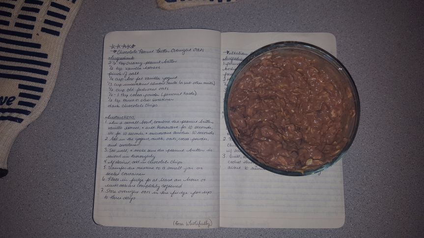 Recipe Review: Chocolate Peanut Butter Overnight Oats