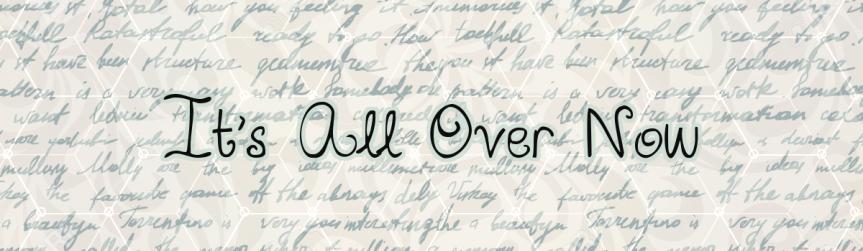 Internship Update: It'sOver!
