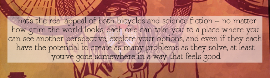 "Book Review: ""Biketopia: Feminist Bicycle Science Fiction Stories in Extreme Futures,"" edited by Elly Blue"