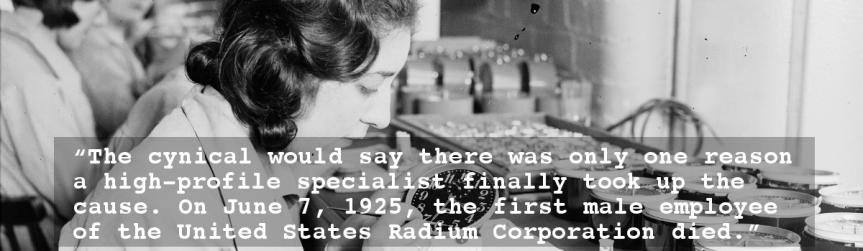 "Book Review: ""The Radium Girls: The Dark Story of America's Shining Women"" by KateMoore"