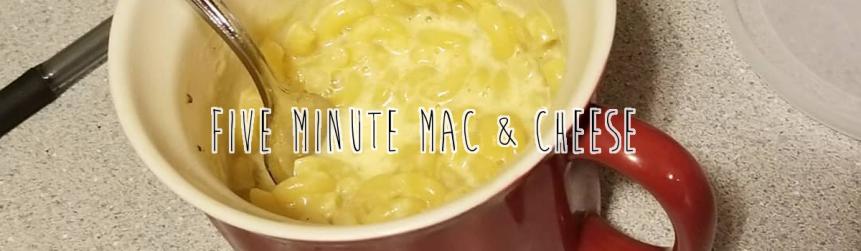 Recipe Review: 5 Minute Mac &Cheese
