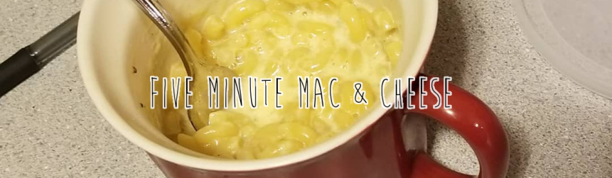 Recipe Review: 5 Minute Mac & Cheese